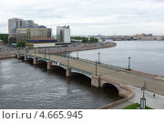 Купить «Сампсониевский мост в Санкт-Петербурге», фото № 4665945, снято 26 мая 2013 г. (c) Андрей Жухевич / Фотобанк Лори