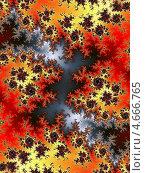 Купить «Фрактальный абстрактный фон», иллюстрация № 4666765 (c) Astronira / Фотобанк Лори
