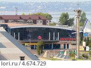 Купить «Казань, Дворец Спорта», эксклюзивное фото № 4674729, снято 13 августа 2012 г. (c) A Челмодеев / Фотобанк Лори