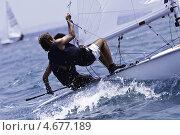 Купить «Гонки на яхтах в Средиземном море», фото № 4677189, снято 30 июля 2010 г. (c) Шутов Игорь / Фотобанк Лори