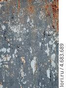 Текстура серого крашеного металла. Стоковое фото, фотограф Игорь Долгов / Фотобанк Лори