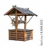 Деревянный колодец. Стоковое фото, фотограф Depth / Фотобанк Лори