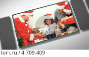 Купить «Montage of families together for Christmas», видеоролик № 4709409, снято 23 августа 2019 г. (c) Wavebreak Media / Фотобанк Лори
