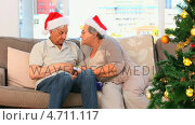 Купить «Mature couple during the Christmas day», видеоролик № 4711117, снято 22 июля 2019 г. (c) Wavebreak Media / Фотобанк Лори