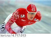 Купить «Иван Скобрев, конькобежец, олимпийский чемпион», фото № 4717013, снято 21 марта 2013 г. (c) Анна Мартынова / Фотобанк Лори