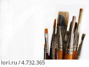Кисти художника. Стоковое фото, фотограф Анастасия Кунденкова / Фотобанк Лори