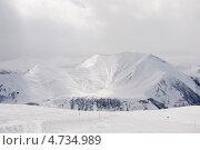 Лыжный курорт, Гудаури, Грузия. Стоковое фото, фотограф Оксана Чорная / Фотобанк Лори