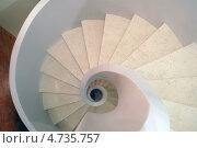 Винтовая лестница. Стоковое фото, фотограф Дмитрий Лифанов / Фотобанк Лори