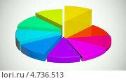 Купить «Диаграмма», видеоролик № 4736513 (c) Сергей Куров / Фотобанк Лори