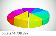 Купить «Диаграмма», видеоролик № 4738897 (c) Сергей Куров / Фотобанк Лори