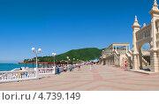 Купить «Курорт Архипо-Осиповка, набережная», фото № 4739149, снято 23 июля 2019 г. (c) Игорь Архипов / Фотобанк Лори