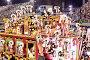 Шоу с декорациями на карнавале Самбодромо в Рио-де-Жанейро 11 февраля 2013 года, Бразилия, фото № 4742309, снято 11 февраля 2013 г. (c) Михаил Мандрыгин / Фотобанк Лори