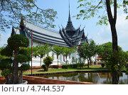 Парк Муанг Боран, Пригород Бангкока, Тайланд. Стоковое фото, фотограф Юлия Алексеева / Фотобанк Лори