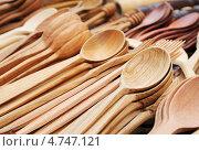 Деревянные ложки. Стоковое фото, фотограф Владимир Ворона / Фотобанк Лори