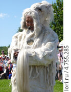 Купить «Якутский шаман молится богам на празднике Ысыах», фото № 4755285, снято 15 июня 2013 г. (c) Данила Васильев / Фотобанк Лори