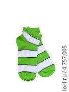 Купить «Разноцветные полосатые носки», фото № 4757005, снято 16 июня 2013 г. (c) Инна Грязнова / Фотобанк Лори
