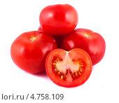Купить «Спелые красные помидоры», фото № 4758109, снято 12 мая 2013 г. (c) Литвяк Игорь / Фотобанк Лори