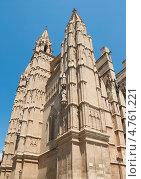 Купить «Собор Ла Сеу в Пальма де Майорка», фото № 4761221, снято 23 мая 2011 г. (c) Юлия Белоусова / Фотобанк Лори