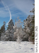 Зимний пейзаж. Стоковое фото, фотограф Барабанов Максим / Фотобанк Лори