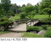 Деревянный мостик. Стоковое фото, фотограф михаил красильников / Фотобанк Лори
