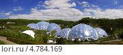 Природный комплекс Проект «Эдем» (The Eden Project), Англия, графство Корнуолл, (Cornwall, UK) (2013 год). Редакционное фото, фотограф Гурова Анна / Фотобанк Лори