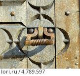 Купить «Старая дверная ручка», фото № 4789597, снято 5 июня 2013 г. (c) Инна Грязнова / Фотобанк Лори