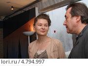 Таисия Игуменцева и Алексей Учитель (2013 год). Редакционное фото, фотограф Денис Макаренко / Фотобанк Лори