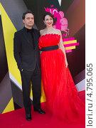 Виктор Васильев и Анна Снаткина (2013 год). Редакционное фото, фотограф Денис Макаренко / Фотобанк Лори