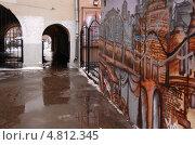 Купить «Фактурные закоулки Москвы», фото № 4812345, снято 8 февраля 2009 г. (c) Мария Московская / Фотобанк Лори
