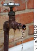 Купить «Водопроводный кран», фото № 4812393, снято 20 июня 2013 г. (c) М Б / Фотобанк Лори