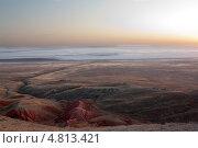 Купить «Рассвет на г. Багдо», фото № 4813421, снято 14 августа 2011 г. (c) Андрей Жемчужнов / Фотобанк Лори