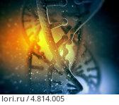 Купить «Наследственная информация. Двойная спираль ДНК человека», фото № 4814005, снято 19 сентября 2019 г. (c) Sergey Nivens / Фотобанк Лори