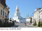 Казанский кремль (2013 год). Редакционное фото, фотограф Рустам Гилязутдинов / Фотобанк Лори
