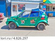 Купить «Самодельный автомобиль «СИМОТ» на базе ВАЗ-11113 «Ока» (автор Олег Стариков)», фото № 4826297, снято 4 июля 2013 г. (c) Владимир Сергеев / Фотобанк Лори