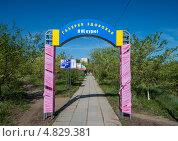 Галерея здоровья «Я не курю», фото № 4829381, снято 5 июня 2013 г. (c) Геннадий Соловьев / Фотобанк Лори