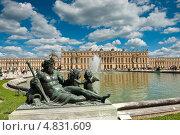 Купить «Версаль (вид из парка). Франция», фото № 4831609, снято 30 июня 2013 г. (c) Екатерина Овсянникова / Фотобанк Лори