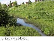 Река Черная. Стоковое фото, фотограф Marina Kovyneva / Фотобанк Лори