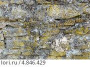 Старая каменная стена. Стоковое фото, фотограф Александр Тесевич / Фотобанк Лори