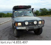 Купить «Внедорожник Range Rover», эксклюзивное фото № 4855497, снято 6 июля 2013 г. (c) Вячеслав Палес / Фотобанк Лори