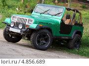 Jeep Wrangler (Джип Вранглер) (2012 год). Редакционное фото, фотограф Олеся Малиновская / Фотобанк Лори