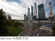 Москва сити (2012 год). Редакционное фото, фотограф Андрей Павлов / Фотобанк Лори