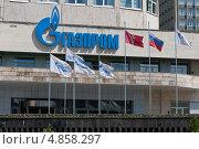 Купить «Административное здание концерна Газпром. Москва», эксклюзивное фото № 4858297, снято 17 июня 2012 г. (c) Илья Галахов / Фотобанк Лори
