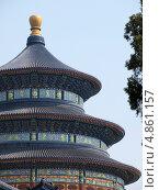 Купить «Пекин. Храм неба», фото № 4861157, снято 28 мая 2012 г. (c) Александр Солдатенко / Фотобанк Лори