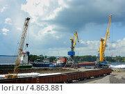 Купить «Выборгский порт», фото № 4863881, снято 18 августа 2012 г. (c) Ольга Остроухова / Фотобанк Лори