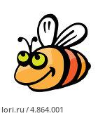Купить «Пчела», иллюстрация № 4864001 (c) Dvarg / Фотобанк Лори