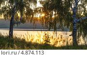 Закат. Стоковое фото, фотограф Виктор Храмов / Фотобанк Лори