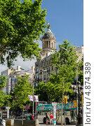 Красивые виды Барселоны, Испания (2013 год). Редакционное фото, фотограф Марат Сабиров / Фотобанк Лори