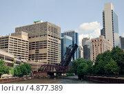 Архитектура Чикаго, США (2013 год). Редакционное фото, фотограф Ekaterina Shustrova / Фотобанк Лори