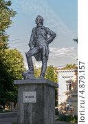 Купить «Боровичи. Памятник А.В. Суворову», фото № 4879157, снято 21 мая 2019 г. (c) Окапи Вячеслав / Фотобанк Лори