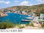 Купить «Порт Балаклава, Крым», фото № 4891889, снято 14 июля 2013 г. (c) Типляшина Евгения / Фотобанк Лори